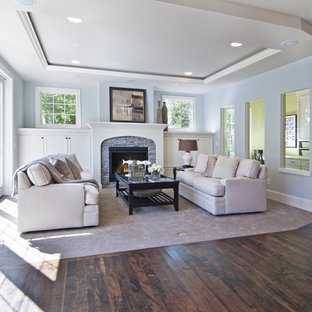 Living room - traditional living room idea in Minneapolis