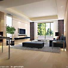 Contemporary Living Room by Zhujia Funiture Co.
