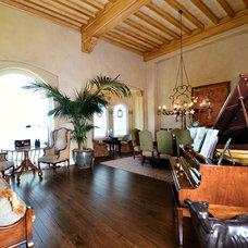 Mediterranean Living Room by RNW Construction