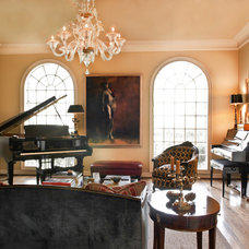 Traditional Living Room by Canon & Company