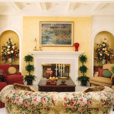 Traditional Living Room by Directions In Design, Inc.