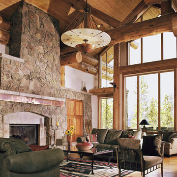 Living Rooms for Mountain Homes