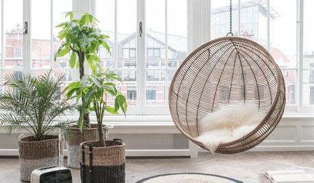27 Ways to Decorate With Woven, Perforated or Mesh Materials