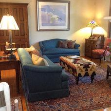 Traditional Living Room by JK Design