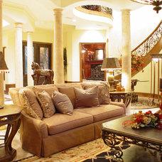 Mediterranean Living Room by John Termeer