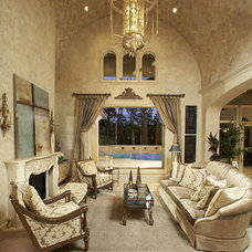 Mediterranean Living Room by John Termeer