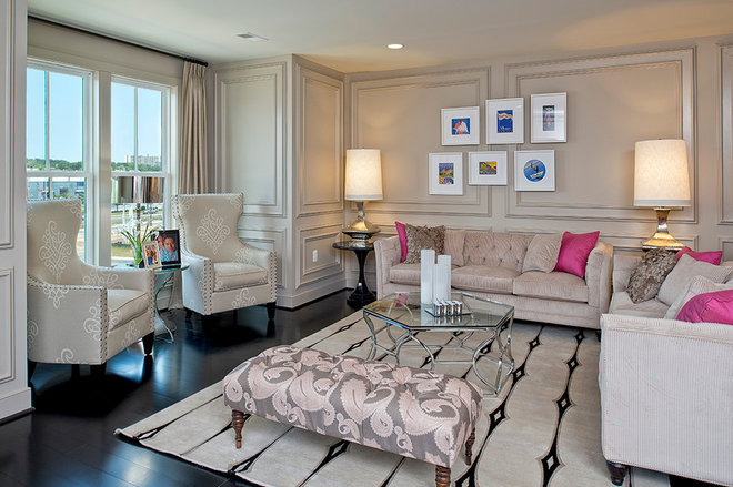 Eclectic Living Room by Maxine Schnitzer Photography