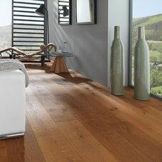 Contemporary Living Room by Porcelanosa USA