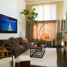 Contemporary Living Room by SoCal Contractor