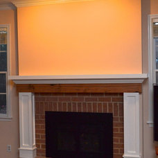 Traditional Living Room by TailorCraft Builders, Inc.