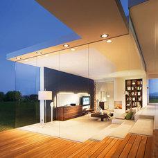 Contemporary Family Room by Wharfside