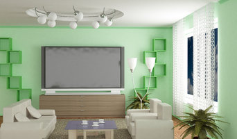 Living Rooms with Smart TV & Audio Sound.