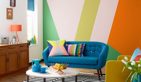 A Colourful Sofa Could be Just the Thing For You