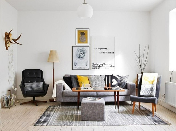 Scandinavian Living Room By Space Interior Design Architecture