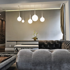 Contemporary Living Room by Leib Designs