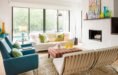 New This Week: Airy Modern Living Rooms That Seat 7