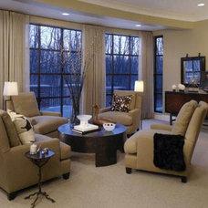 Modern Living Room by Michael Coyne Design
