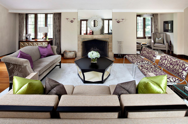 Contemporary Living Room by Clean Design