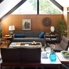 Modern Living Room by David Lauer Photography