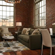 Modern Living Room by Eclectic Home,LLC