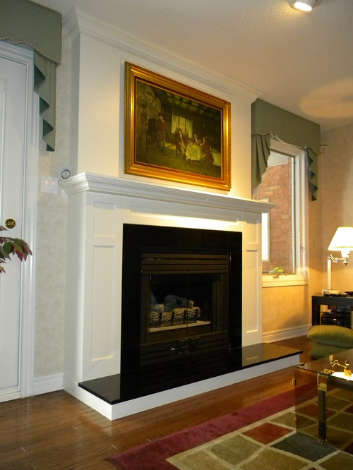 covering an existing brick fireplace home design ideas