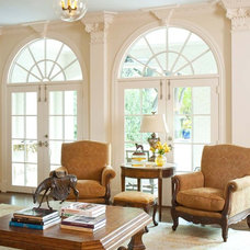 Traditional Living Room by Isler Homes