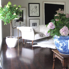 Eclectic Living Room by Karin H Edwards Interiors, LLC