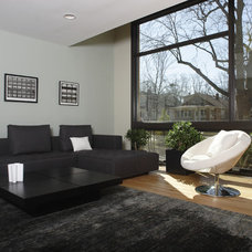 Contemporary Living Room by Normandy Remodeling