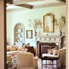 Presidio Heights Traditional Traditional Living Room