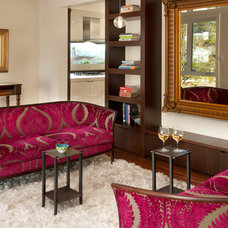 Traditional Living Room by R Johnston Interiors
