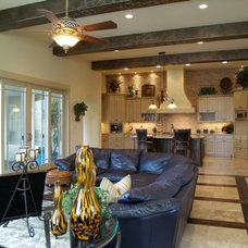 Contemporary Living Room by Waldrop Builders