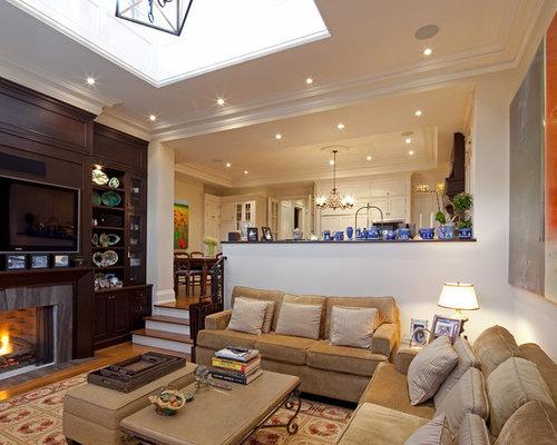 Step-down Living Room | Houzz