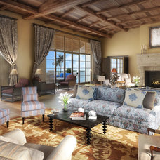 Mediterranean Living Room by Doug Burch