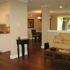 Craftsman Living Room by New Creation Group Remodeling