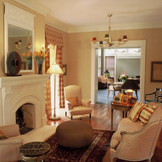 Traditional Living Room by Demerly Architects