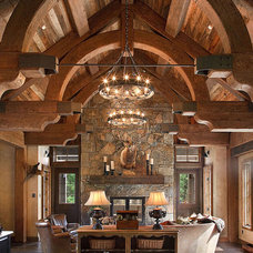 Traditional Living Room by Ryan Whitworth - The Big Guys Home Delivery Inc.