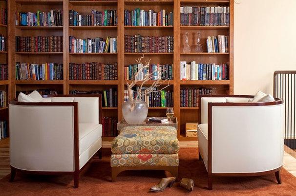 Contemporary Living Room by laurel quint interior design