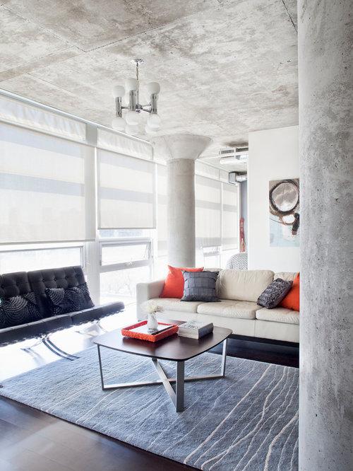 21 Modern Living Room Decorating Ideas: Loft 001