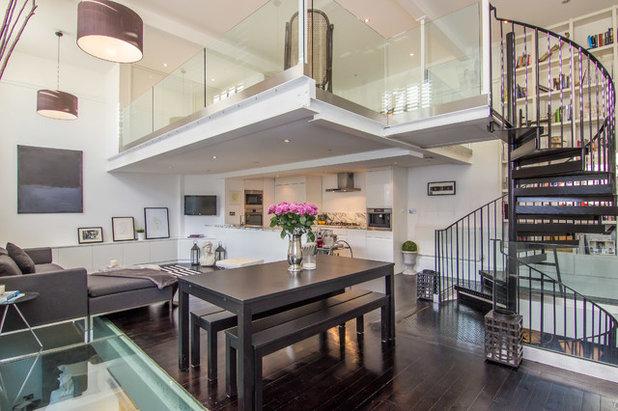 Contemporary Living Room by JC Decor