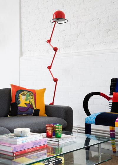 Scandinavian Living Room by Element Studios