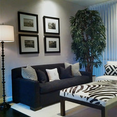 Contemporary Living Room by Christopher James Interiors