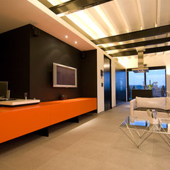 contemporary living room by Intercub Interiors