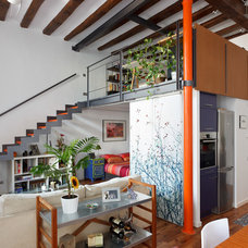 Contemporary Living Room by nicneu studio - fine art & wall decor