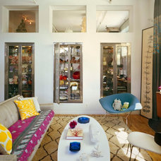 Eclectic Living Room by Ondine Karady Design