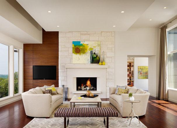 Contemporary Living Room by JEIDesign