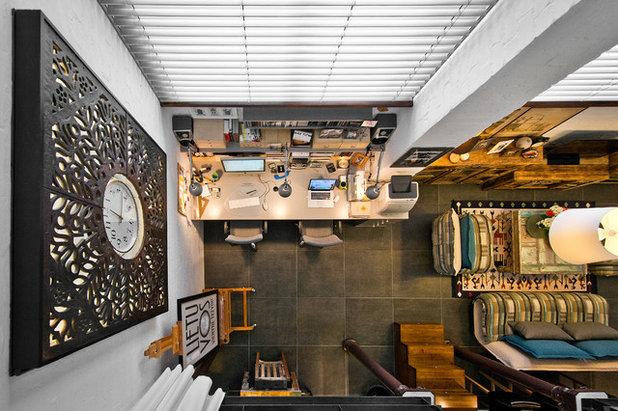 Eclectic Living Room by Dalius & Greta Design