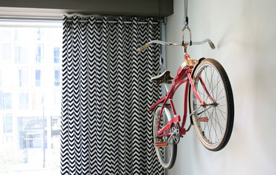 Ideas para guardar la bici dentro de casa