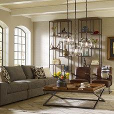 Industrial Living Room by Zin Home