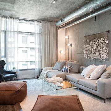 LOFT | Luxury Industrial Loft Makeover DTLA