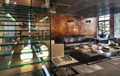 Houzz Tour: Warm and Seductive Loft in Milan